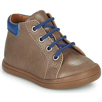 Shoes Boy High top trainers GBB TIDO Brown