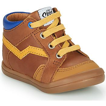 Shoes Boy High top trainers GBB ASTORY Brown