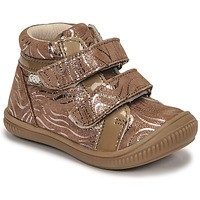 Shoes Girl High top trainers GBB EDEA Beige