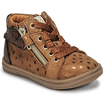 Shoes Girl High top trainers GBB VALA Brown