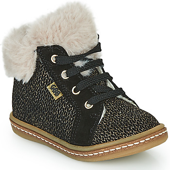 Shoes Girl High top trainers GBB JUNA Black