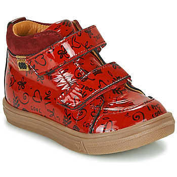 Shoes Girl High top trainers GBB DOMENA Red