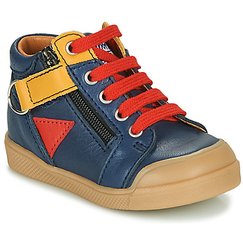 Shoes Boy High top trainers GBB TIMOTHE Blue