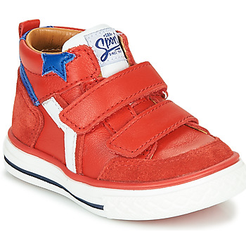 Shoes Boy High top trainers GBB FLAVIO Red