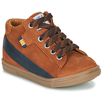Shoes Boy High top trainers GBB WESTY Brown