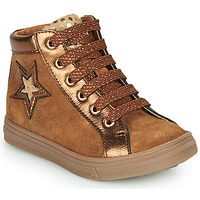 Shoes Girl High top trainers GBB TADEA Brown
