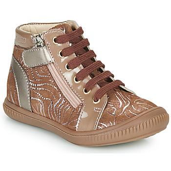 Shoes Girl High top trainers GBB RACHIDA Beige