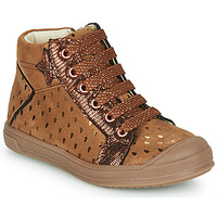 Shoes Girl High top trainers GBB ORENGETTE Brown