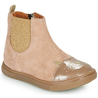 Shoes Girl Mid boots GBB JESSINE Beige
