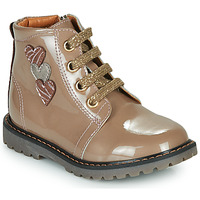 Shoes Girl High top trainers GBB MOIRA Beige