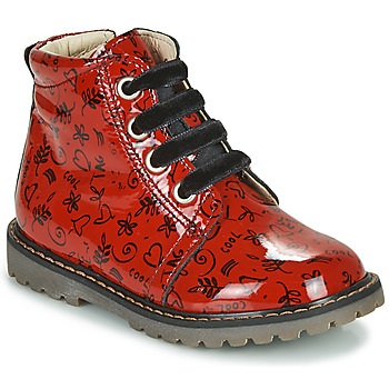 Shoes Girl High top trainers GBB NAREA Red