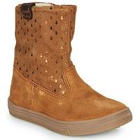 Shoes Girl Mid boots GBB KINGA Brown