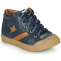 Shoes Boy High top trainers GBB LEON Blue