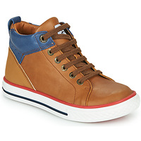 Shoes Boy High top trainers GBB MERINO Brown
