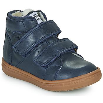 Shoes Boy High top trainers GBB DIEGGO Blue