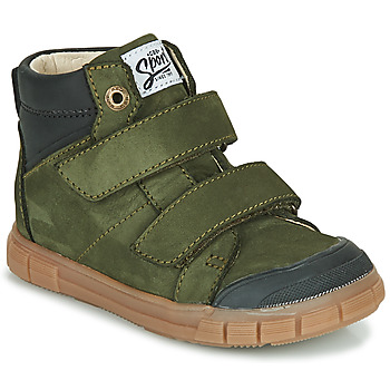 Shoes Boy High top trainers GBB HENI Green