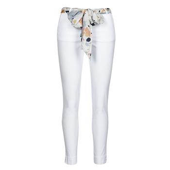 material Women 5-pocket trousers Betty London OUMA White