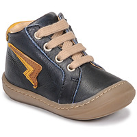 Shoes Boy High top trainers GBB APODAMI Blue