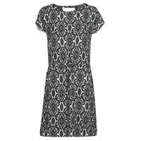 material Women Short Dresses Only ONLNOVA White / Black