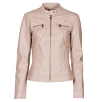 material Women Leather jackets / Imitation le Only ONLBANDIT Pink