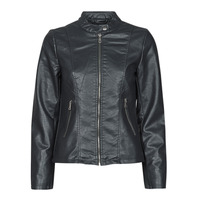 material Women Leather jackets / Imitation le Only ONLMELISA Black