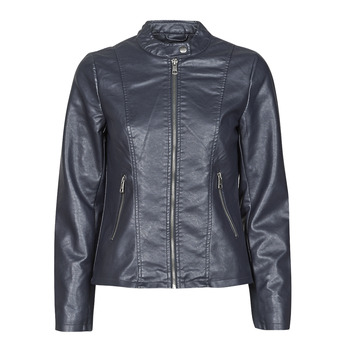 material Women Leather jackets / Imitation le Only ONLMELISA Marine