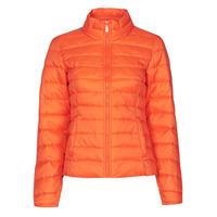 material Women Duffel coats Only ONLNEWTAHOE Orange