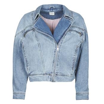 material Women Denim jackets Only ONLJACK Blue / Medium