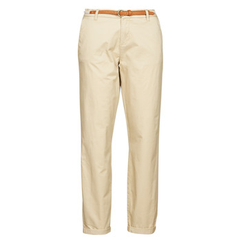 material Women chinos Only ONLBIANA Beige