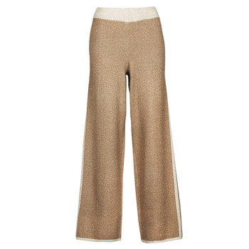 material Women cropped trousers Only ONLLILA Beige