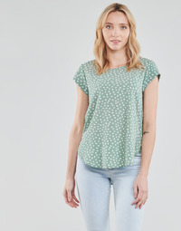 material Women Blouses Only ONLVIC Green / White