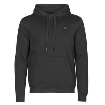 material Men sweaters G-Star Raw PREMIUM BASIC HOODED SWEATE Black