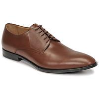 Shoes Men Derby shoes & Brogue shoes Christian Pellet Alibi Brown