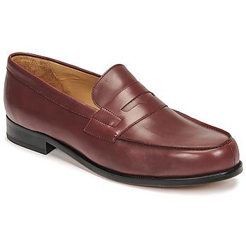 Shoes Men Loafers Pellet Colbert Red