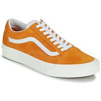 Shoes Women Low top trainers Vans UA OLD SKOOL Orange