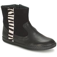 Shoes Girl Mid boots Citrouille et Compagnie ELLIA Black