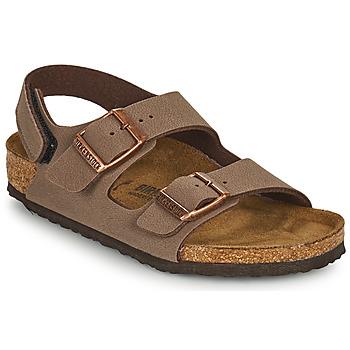 Shoes Boy Sandals Birkenstock MILANO HL Brown