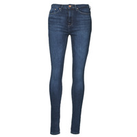 material Women slim jeans Only ONLPAOLA Blue / Dark