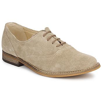 Shoes Girl Brogue shoes Citrouille et Compagnie MOUTUNE Beige