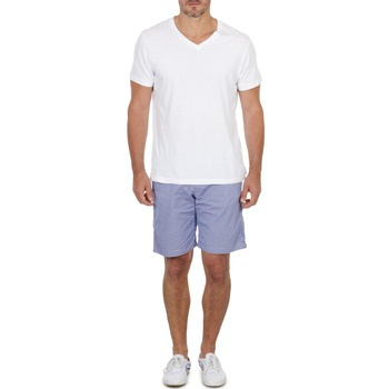 material Men Shorts / Bermudas Franklin & Marshall GAWLER Blue / Beige
