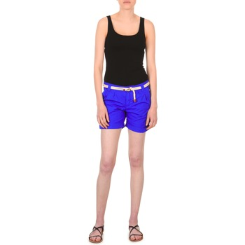 material Women Shorts / Bermudas Franklin & Marshall CALOUNDRA Blue