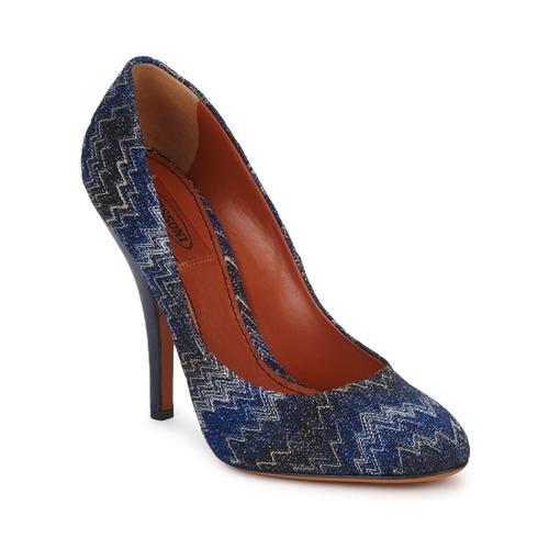 Shoes Women Court shoes Missoni VM005 Blue
