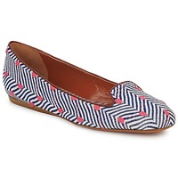 Shoes Women Loafers Missoni VM036 Blue / Pink