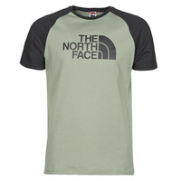 material Men short-sleeved t-shirts The North Face S/S RAGLAN EASY TEE Green