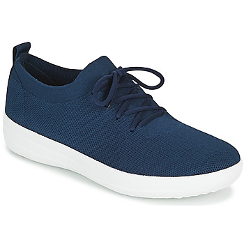 Shoes Women Low top trainers FitFlop F-SPORTY UBERKNIT SNEAKERS Marine