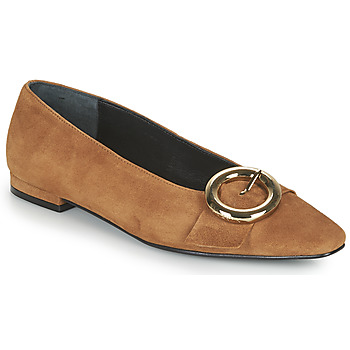 Shoes Women Ballerinas JB Martin SAVOIR Brown