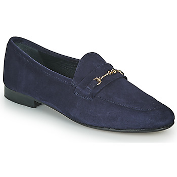 Shoes Women Loafers JB Martin FRANCHE Blue