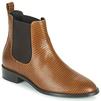 Shoes Women Mid boots JB Martin ATTENTIVE Brown
