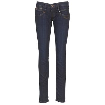 material Women slim jeans Freeman T.Porter ALEXA SLIM SDM Blue / Dark