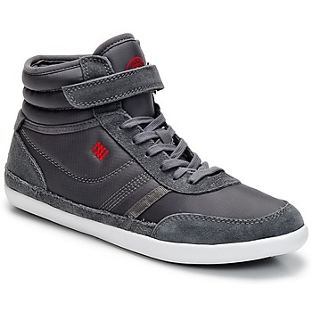 Shoes Women High top trainers Dorotennis MONTANTE STREET VELCROS Grey